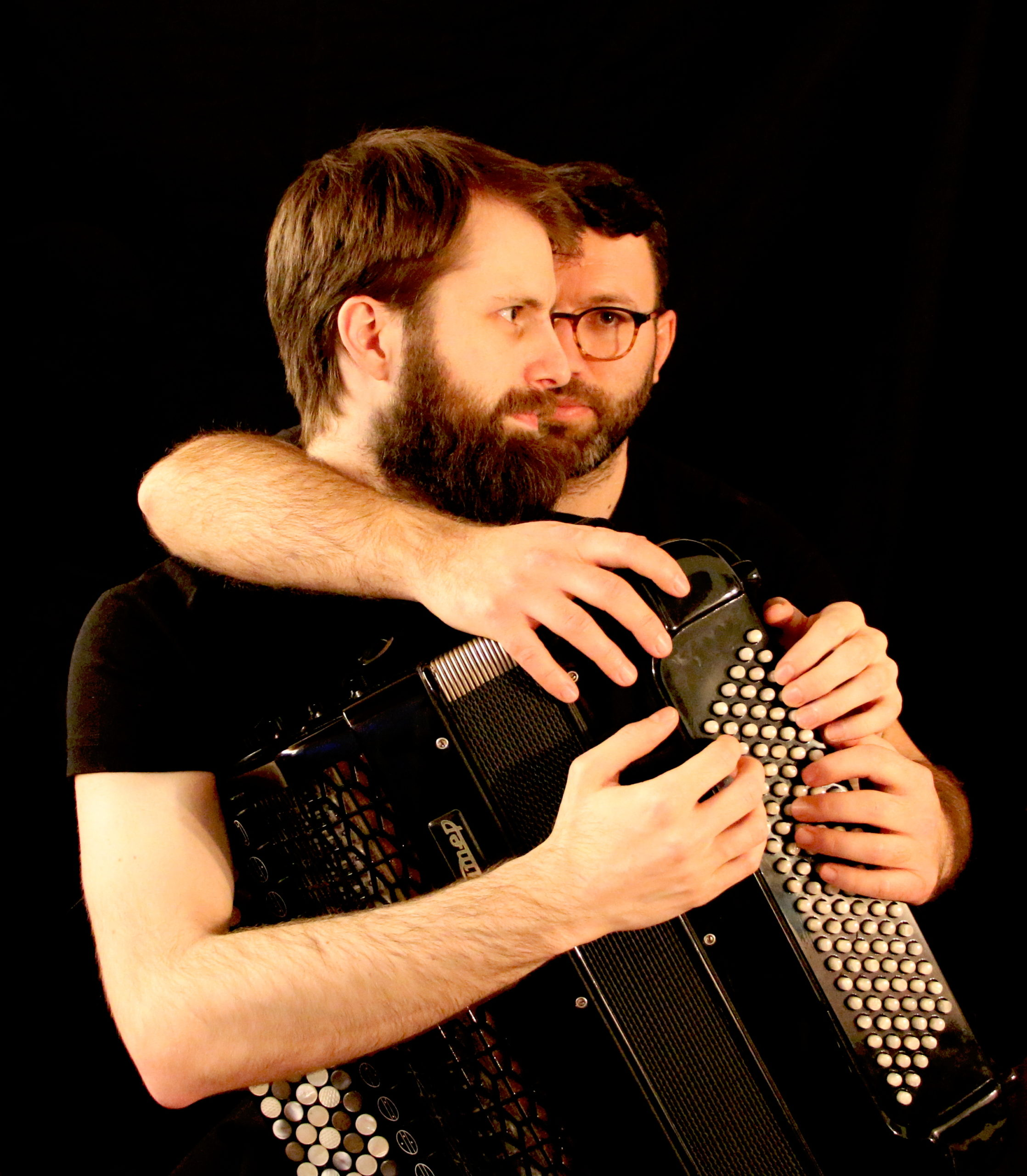 Musik für Akkordeon zu vier Händen